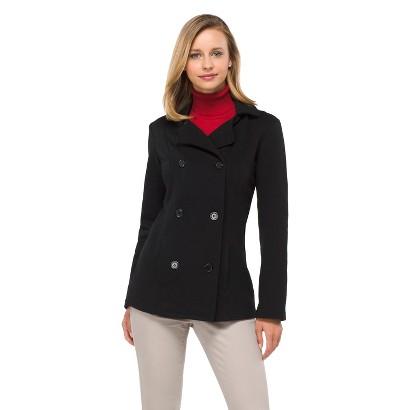 Women's Double Breasted Fleece Coat - Merona