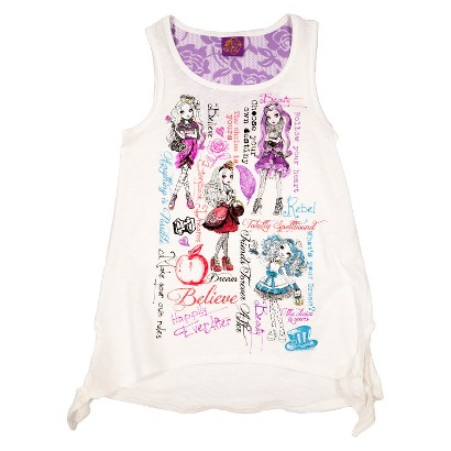 Ever After High Girls' Tank - Ivory