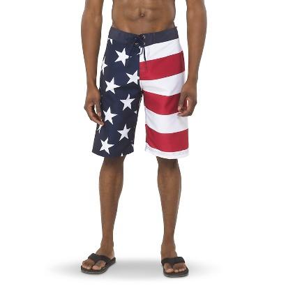 """Men's 11"""" Flag Boardshort"""