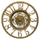Infinity Decorative Clock - Gold