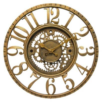 Infinity Decorative Clock - Gold