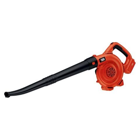 Black & Decker 20V Bare Lawn Sweeper