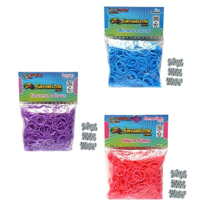 Sunshine Loom Rubberbands - Pastels Pack