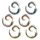Supreme Jewelry™ Fake Plug Ear Ring Set of 3 Pairs - Multicolor