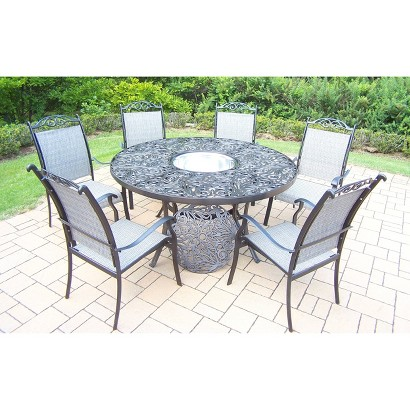 Cascade Aluminum Patio Dining Furniture Collection Tar