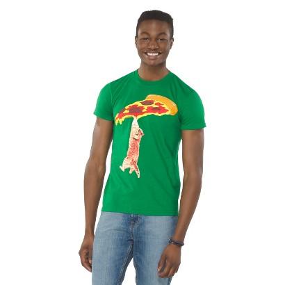 Pizza Cat Men's T-Shirt