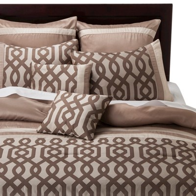Gate Hill Comforter Set - Beige (Queen)