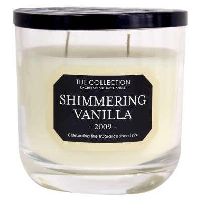 The Collection Shimmering Vanilla 2009 Candle