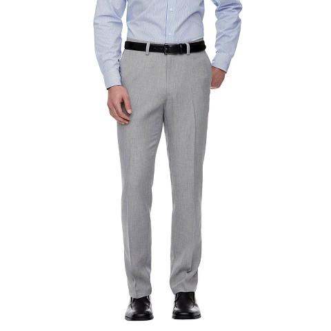 Haggar H26 Men's Straight Fit Trousers Ash