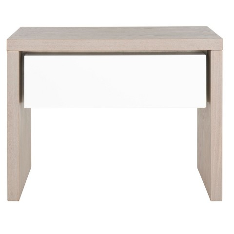 Jonco Side Table White/Gray - Safavieh
