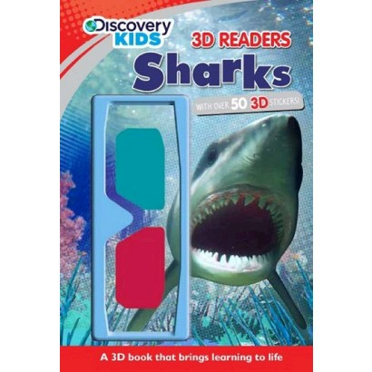Discovery Kids: 3D Readers Sharks (Hardcover)