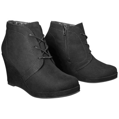 Women's Mossimo® Estella Wedge Booties
