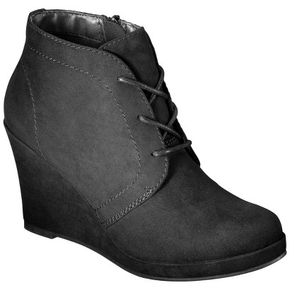 Women's Mossimo® Estella Wedge Booties