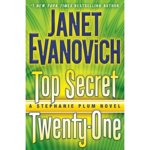 Top Secret Twenty-One (Target Signed Edition)(Stephanie Plum Series #21) by Janet Evanovich (Hardcover)