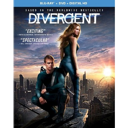 Divergent (Blu-ray/DVD/Digital + Bonus Disc)(Blanket with ONLINE ORDERS ONLY) - Target Exclusive