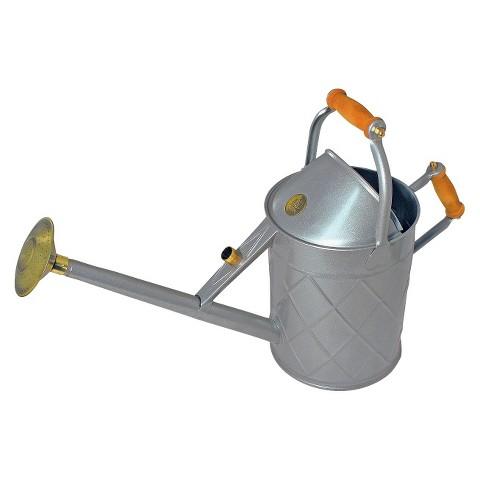 Haws 2 4 gallon heritage outdoor metal watering can target - Gallon metal watering can ...