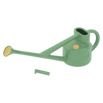 Haws 0.6 gallon Conservatory Plastic Watering Can in Sage