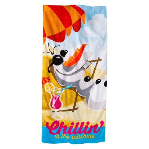 Disney® Frozen Chillin' Beach Towel - 2-pk.