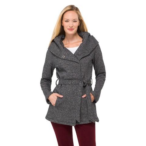 Women's Fleece Wrap Jacket - Merona