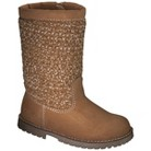 Toddler Girl's Genuine Kids from OshKosh™ Kaylin Knit Fashion Boots - Chestnut