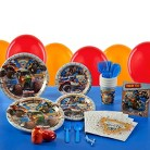 Monster Jam 3D Birthday Party Pack