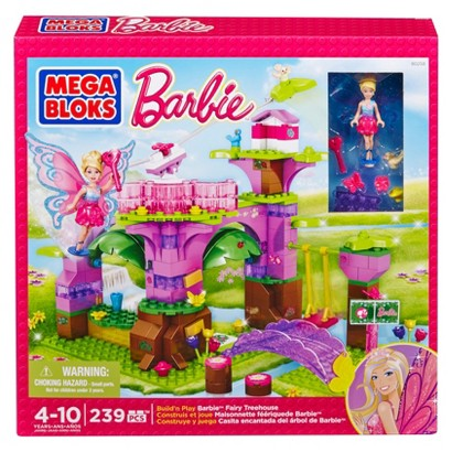 MEGA Bloks Barbie - Build 'n Play Fairy Treehouse