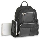 Graco Gotham Backpack Diaper Bag - Black/Gray