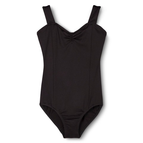 Danz N Motion® by Danshuz® Girls' Leotard -  Black