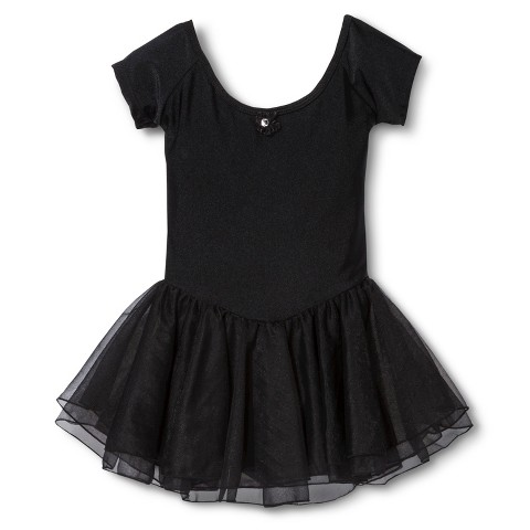 Danz N Motion® by Danshuz® Girls' Activewear Dress -  Black