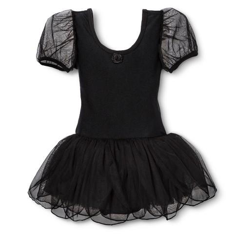 Danz N Motion® by Danshuz® Girls' Activewear Dress -  Black