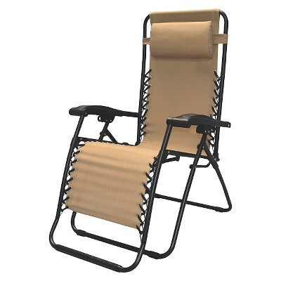 Ecom Patio Folding Chair CARAVA 18.5in