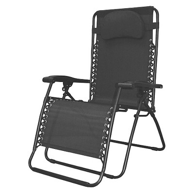 Oversized Infinity Zero Gravity Chair--Black