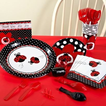 Ladybug Fancy Party Pack for 16 - Multicolor