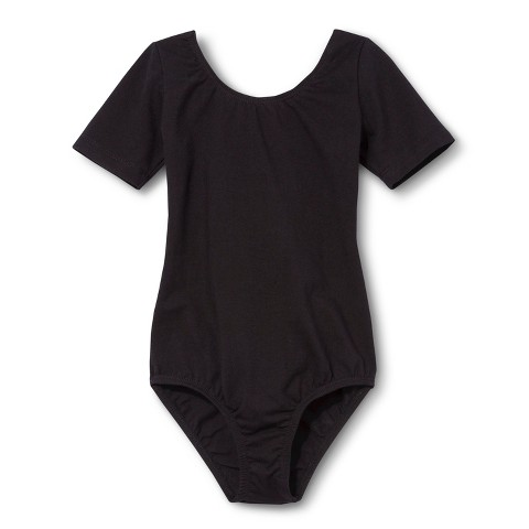 Danz N Motion&#174 by Danshuz&#174 Girls' Leotard -  Black