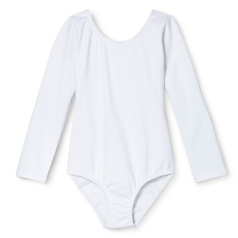 Danz N Motion® by Danshuz® Girls' Leotard -  White