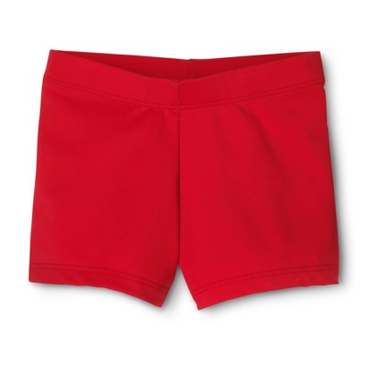 Danz N Motion® by Danshuz® Girls' Activewear Shorts Red