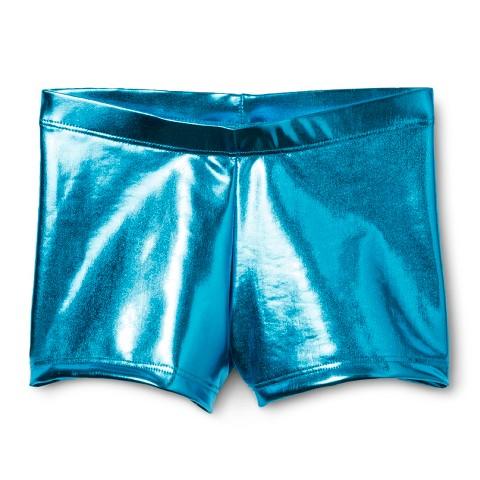 Danz N Motion&#174 by Danshuz&#174 Girls' Activewear Shorts Turquoise