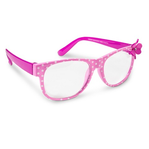 Girls Polkadot Square Fashion Glasses : Target