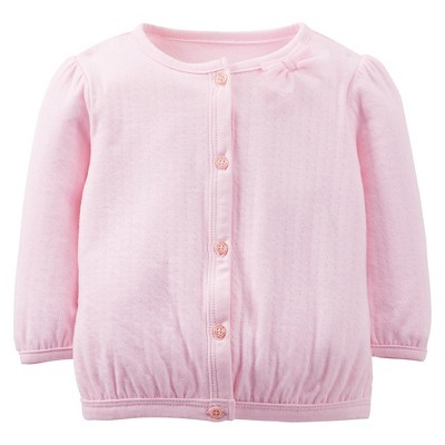 Just One You™Made by Carter's® Newborn Girls' Long-sleeve Cardigan - Pink L
