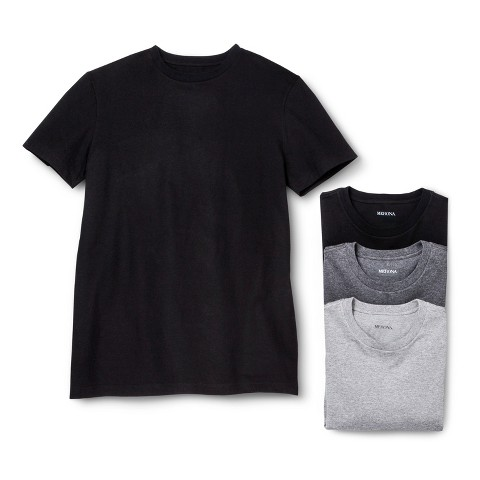 Merona® Men's 4-pack Crew Neck Undershirts