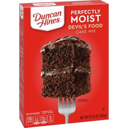 Allergen Information Duncan Hines Devil S Food