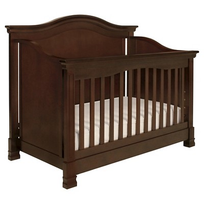 Million Dollar Baby Classic Louis 4-in-1 Convertible Crib with Toddler Rail - Espresso