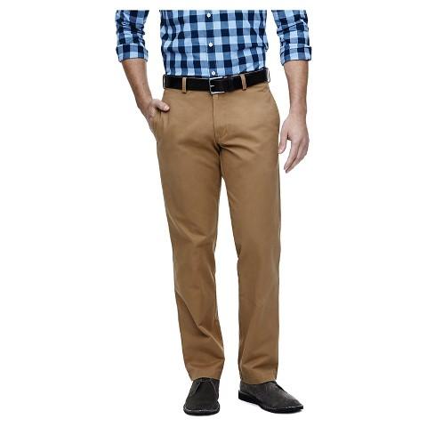 Haggar H26 Men's Straight Fit Original Chino Pants - Brown