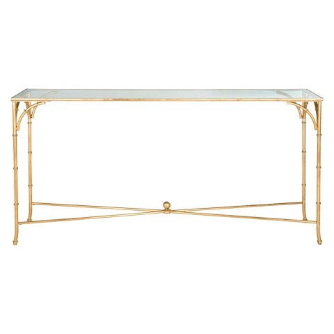 Safavieh Maurice Console Table - Gold