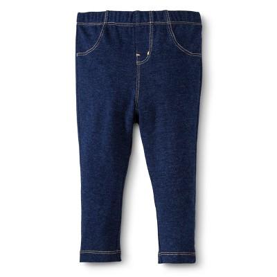 Circo® Newborn Girls' Legging Pant - Nighttime Blue New Born