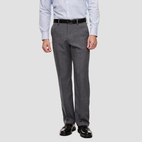 Haggar H26 Men's Classic Fit Performance Pants Charcoal