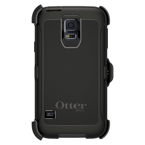 Otterbox Defender Cell Phone Case for Samsung Galaxy S5 - Black (42398TGW)