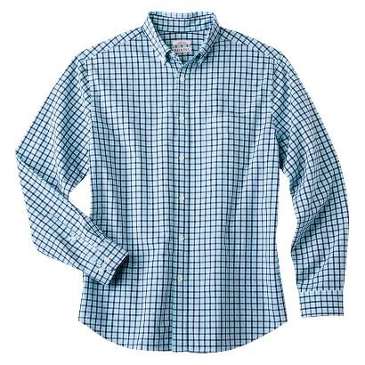 Merona Men's Checkered Button Down Shirt