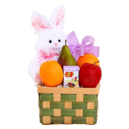 Easter Fresh Fruits and Friends Gift Basket