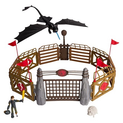 DreamWorks Dragons How to Train Your Dragon to Dragon Heroes Training Arena (Target Exclusive)